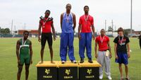 Boys 400m Dash - Medal Winners